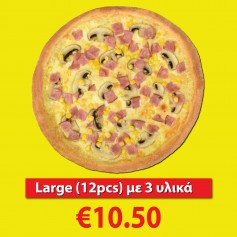 Large Pizza (3 toppings)