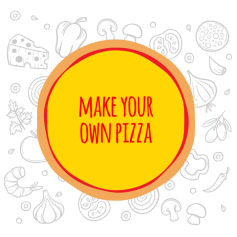 Make your own pizza - Medium