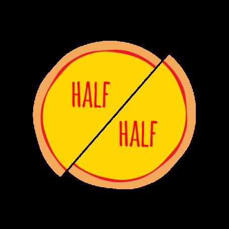 Half & Half - Medium
