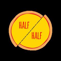 Half & Half - Large